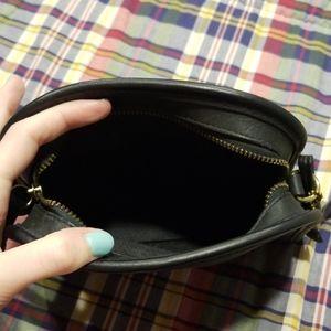 Coach Bags - Vintage 1990s Coach Black Leather Mini Bag